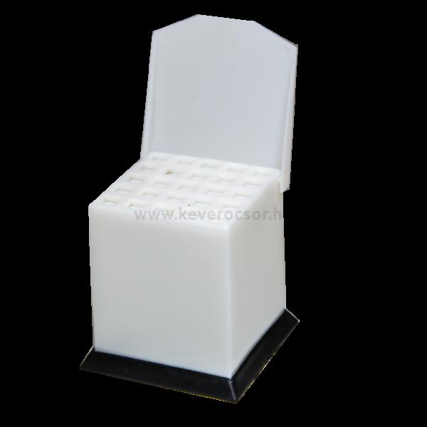 Vattagolyótartó, műanyag, 1 db