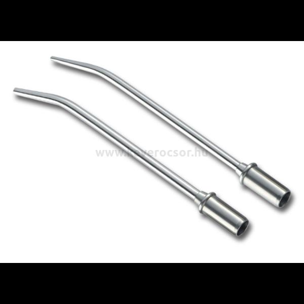 Elszívó, sebészi, fém, 1 db, többféle méretben, 11 mm csatlakozó résszel