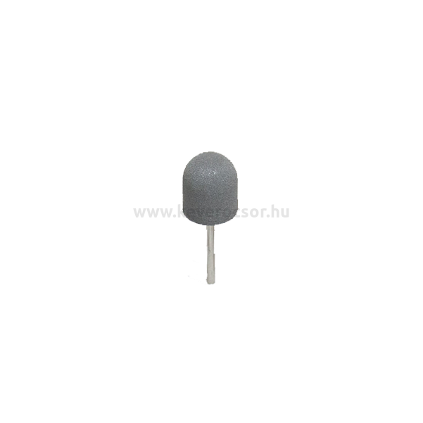 Fogsoros gumipolírozó, 12 db, HP, sötét szürke, kemény,15x17mm, szilikonból,széles lekerekített henger forma, 15-20 000 rpm