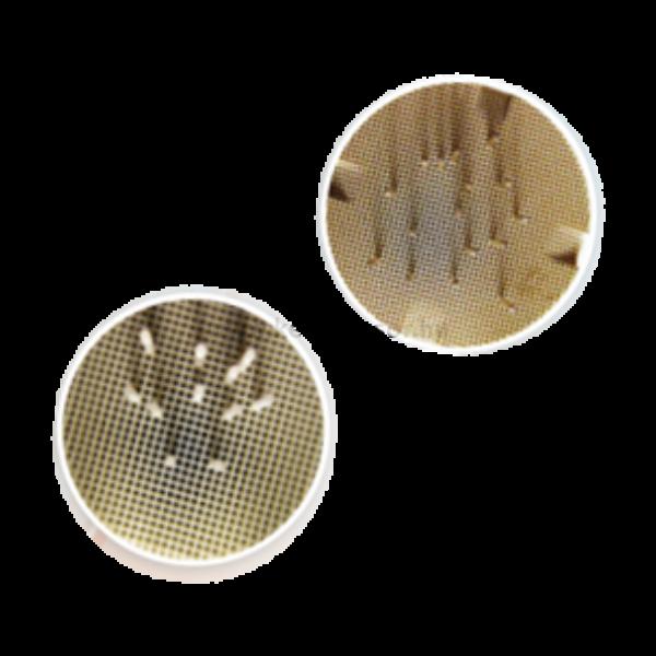 Égetőtalp 2 db, 20 tüskével - KERÁMIA - kerek, 80 mm átmérőjű, kerámia kályhába