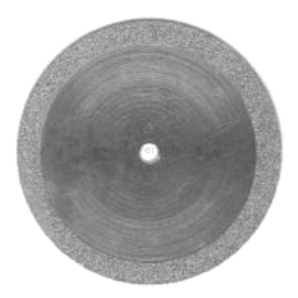 Szeparáló korong, gyémánt, mandrell nélkül, flexibilis, 0,25x22 mm