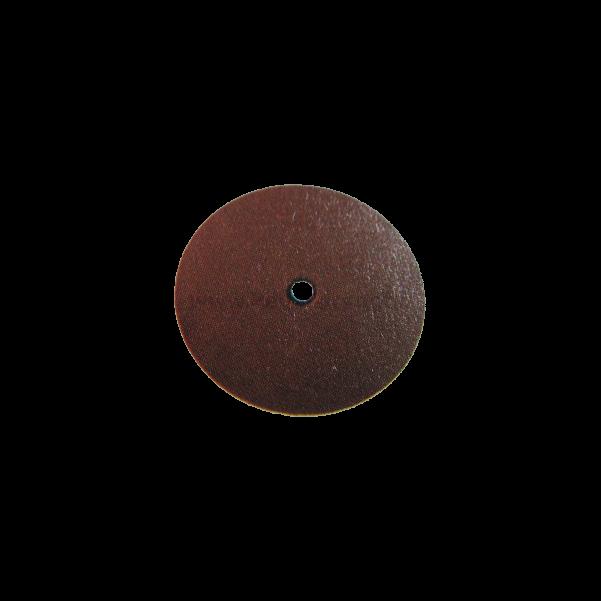 Szilikon polírozó mandrel nélkül, lencse forma, barna, Mid-Coarse, 10 db