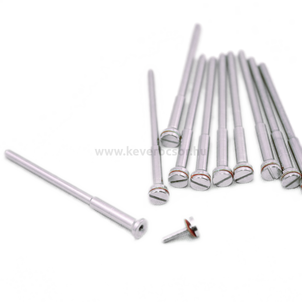 Mandrel, 1 pc, with fortified neck, screwy, HP