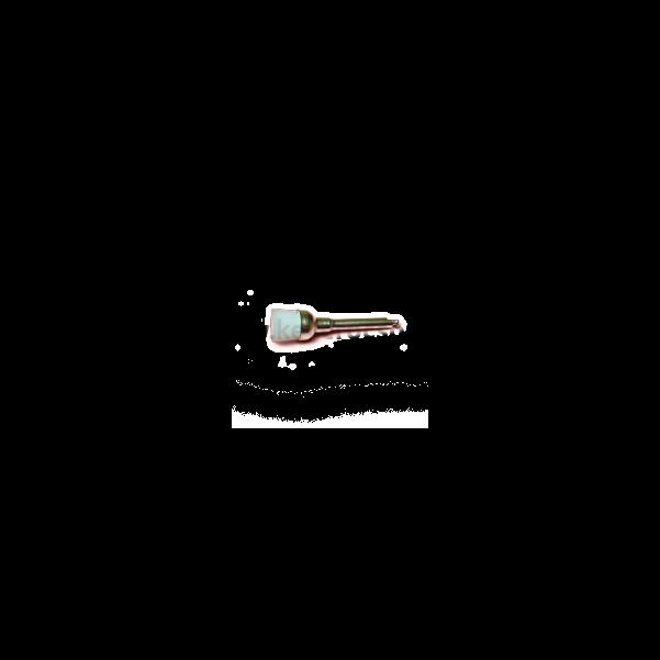 Polírozó kefe nylon, kehely forma, natúr, RA befogású, 1 db
