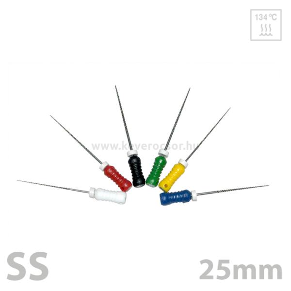 Reamer 25mm, SS, 6db,doboz - többféle választható típus