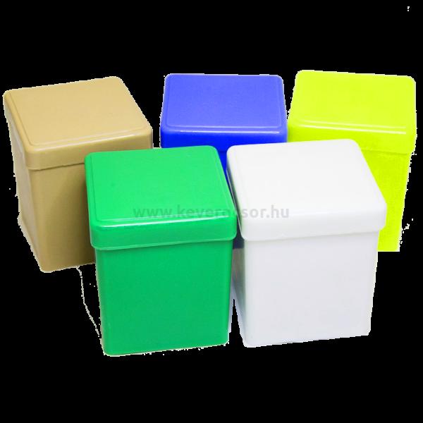 Mull-lap tartó (5x5 cm-eshez), 1 db, autoklávozható műanyagból, - többféle választható színben