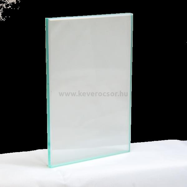 Üveglap 1db, 124x78x7 mm