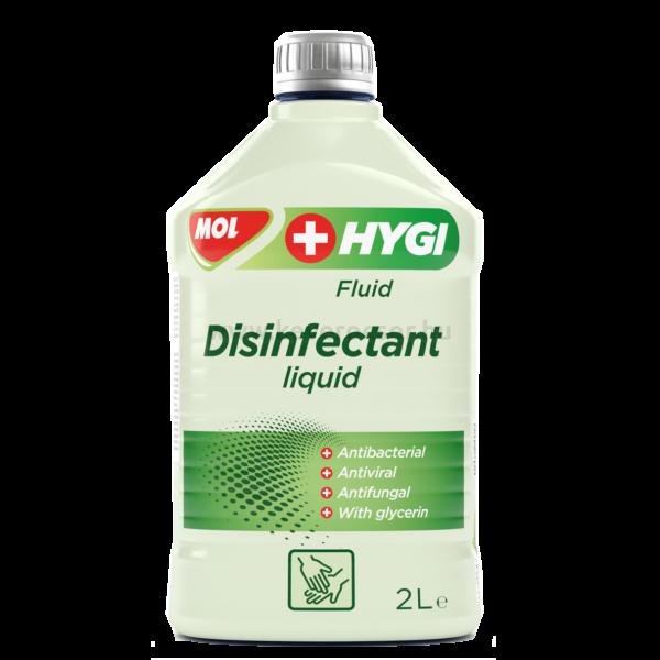 MOL Hygi Fluid kézfertőtlenítő folyadék, 2L