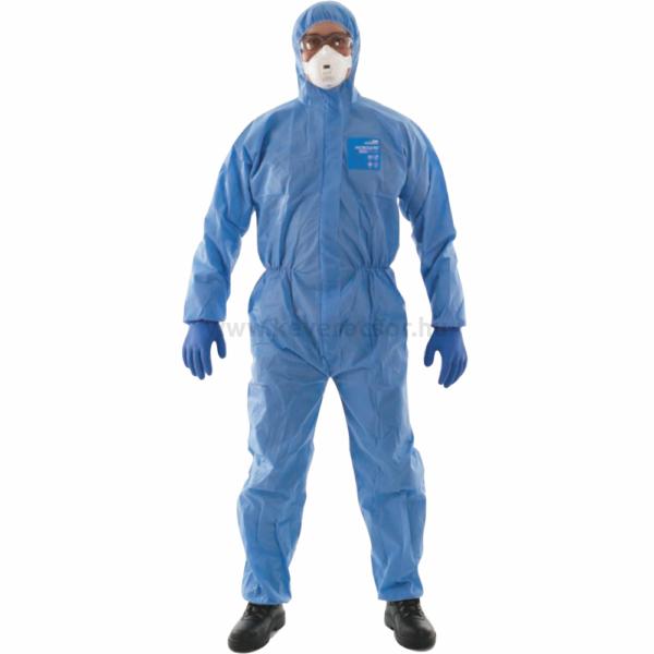 ANSELL Microgard 1500 Plus kapucnis overál kék, 1 db