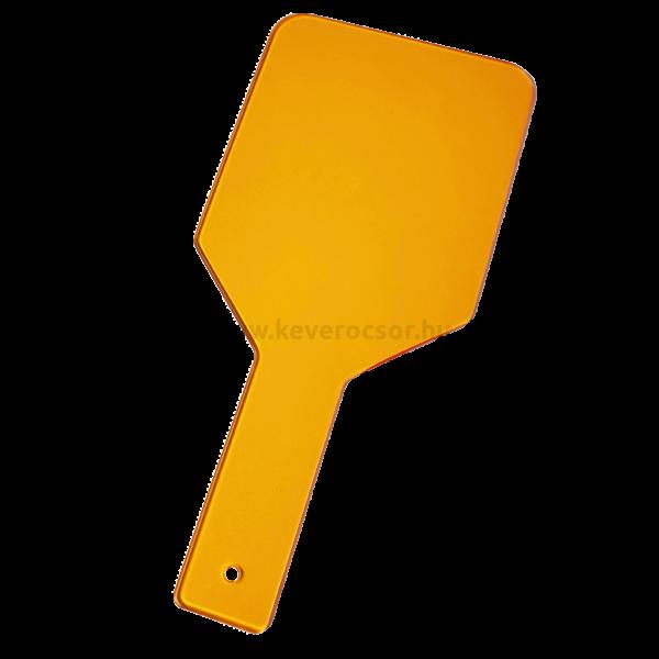 Védőpajzs, narancs, fotopolimerizációs lámpa fénye ellen véd