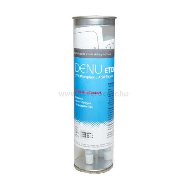 DENU foszforsav 37%, 3 ml (+ 1 kanül)