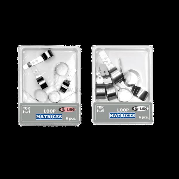 TOR - Hurok matrica, fém - többféle választható típusban