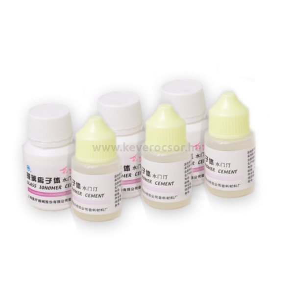 Üvegionomer cement klinikai szett (3x20g por, 3x15ml folyadék)